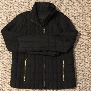 J. Crew Lightweight Down Puffy Coat